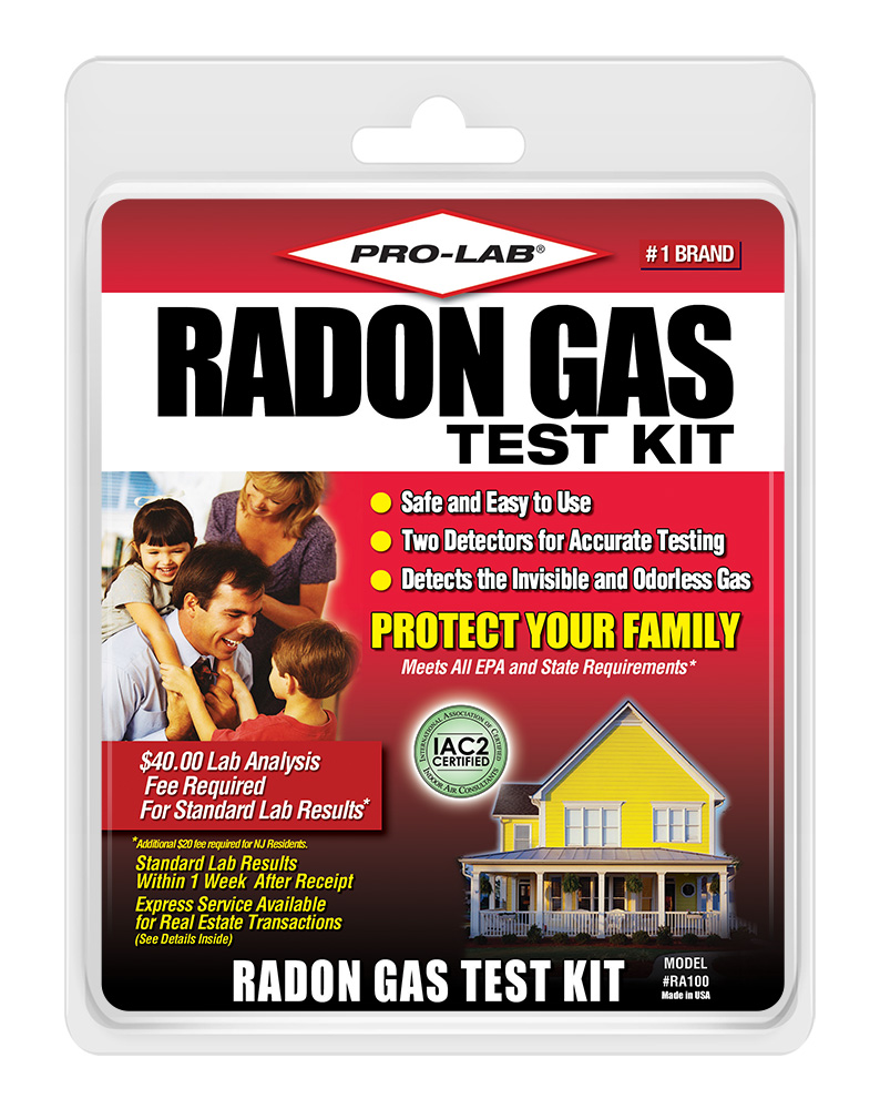 Pro lab test kits protect your family by accurately testing for these dangers with reliable - The office radon test kit ...